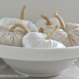 How to Make Velvet Pumpkins Simple DIY Tutorial