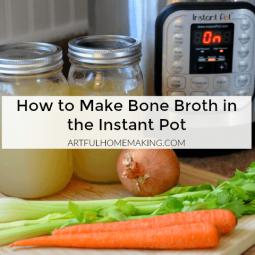 Homemade Instant Pot Bone Broth