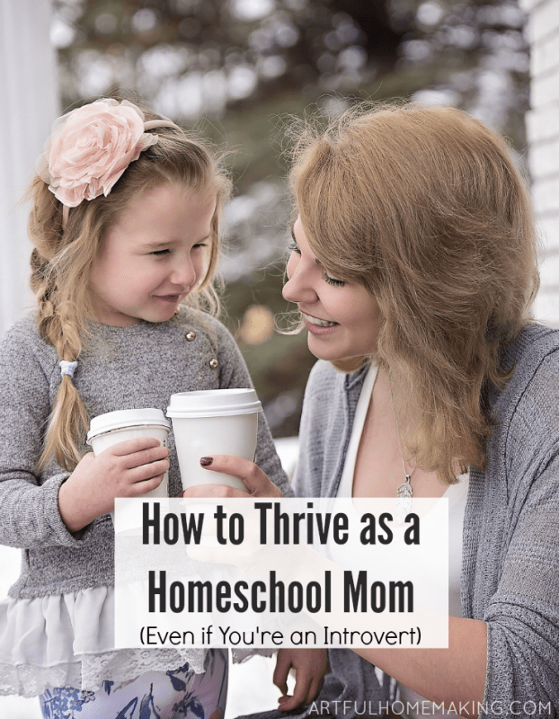 thrive as a homeschool mom
