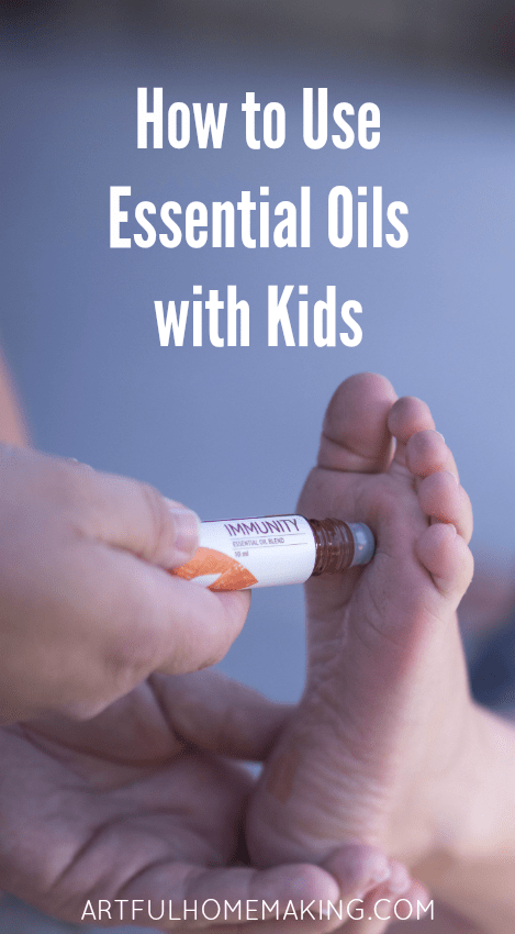 using essential oils with kids