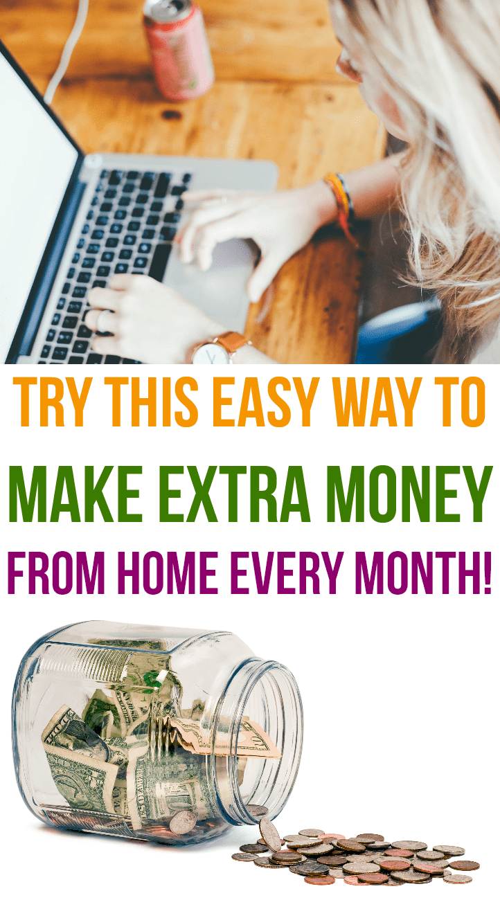 Try this easy way to make extra money from home!