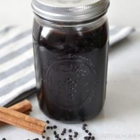 Instant Pot Elderberry Syrup