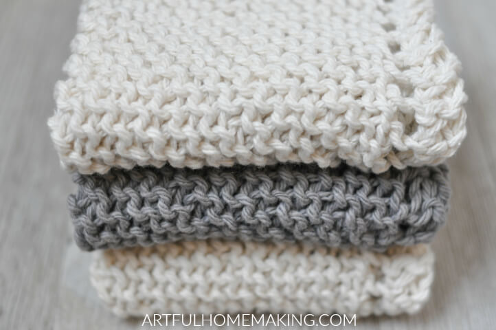 grandmother's favorite dishcloth knitting pattern