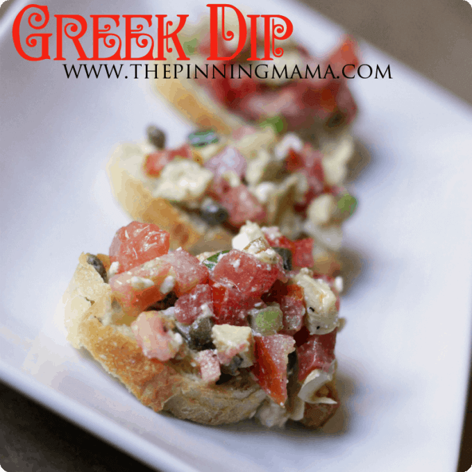 light greek dip