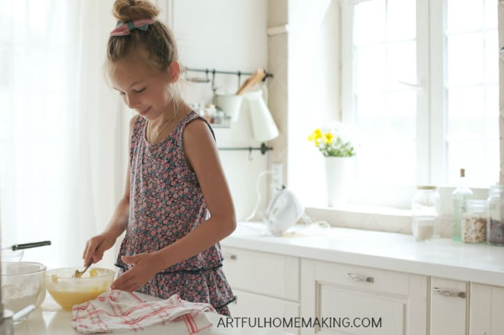age-appropriate chores