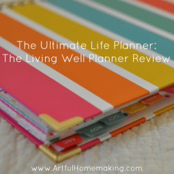 The Ultimate Life Planner: Living Well Planner Review
