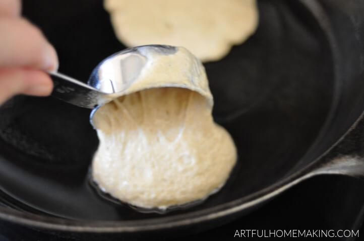 sourdough pancake batter