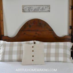 Farmhouse Style Master Bedroom Updates