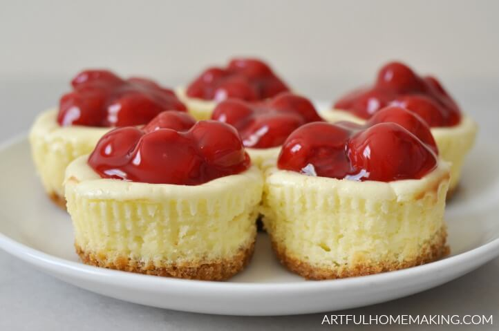 mini cheesecakes recipe
