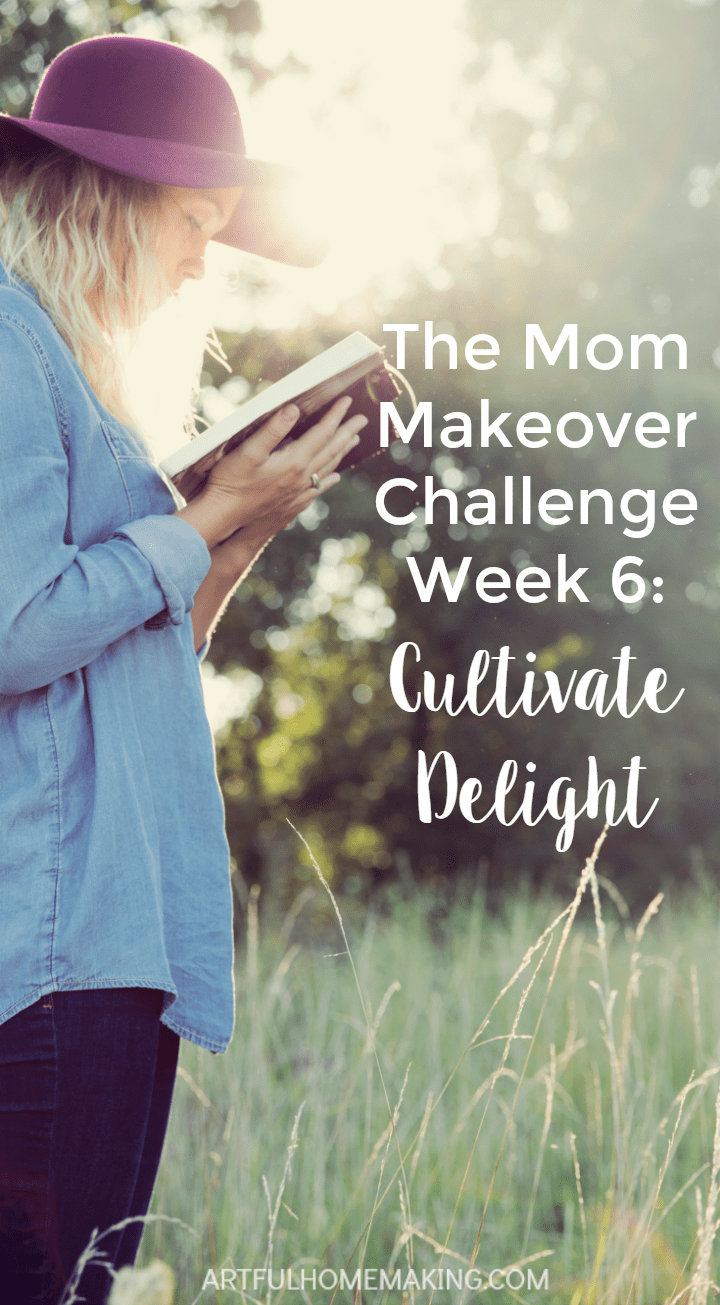 This challenge has really helped me be a better mom!