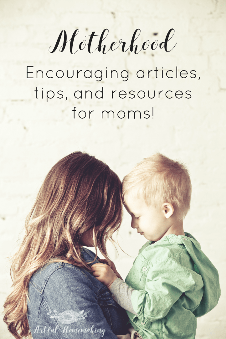 This is a helpful and encouraging resource for moms!