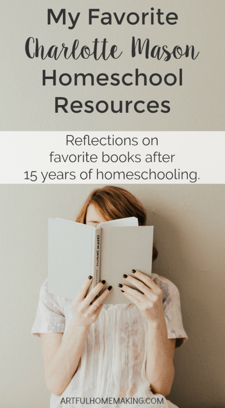 A must-read book list for Charlotte Mason homeschoolers!