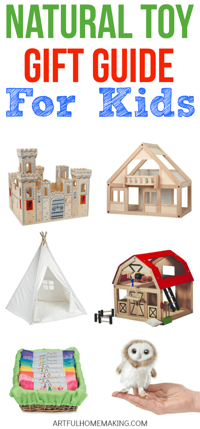 This post has some of the best natural toy gift ideas ever!