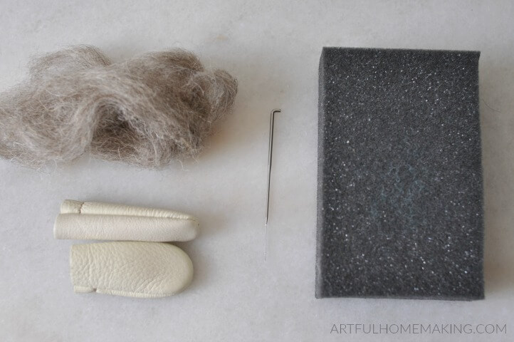 needle felting supplies for beginners