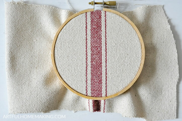 embroidery hoop christmas