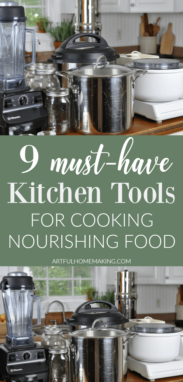 Real Food Kitchen Tools