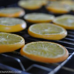 How to Make Oven Dried Orange Slices