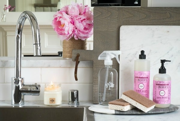 Make Spring Cleaning Beautiful With a FREE Mrs. Meyer's Cleaning Kit!
