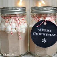 mason jar christmas gift in a jar idea