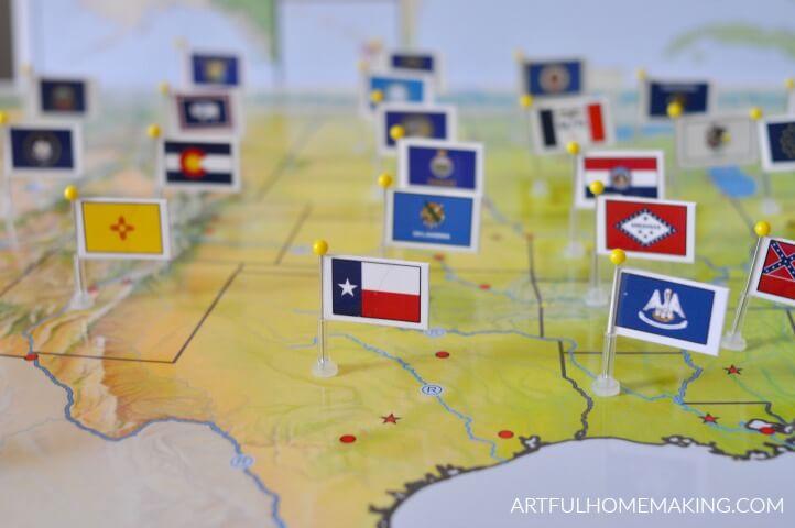 homeschool geography pin it maps