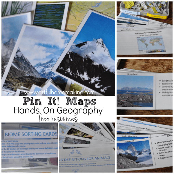 hands-on geography