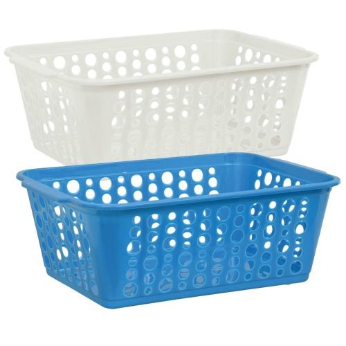 dollar store plastic baskets