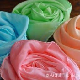 Dye Your Own Playsilks With Kool-Aid {Tutorial}