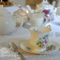 Poetry Tea Time Ideas and Resources