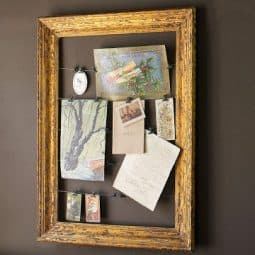 Pottery Barn Inspired Frame