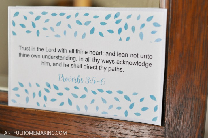 graphic regarding Printable Bible Verses Kjv called 24 Printable Bible Verse Playing cards for Mothers - Clever Homemaking