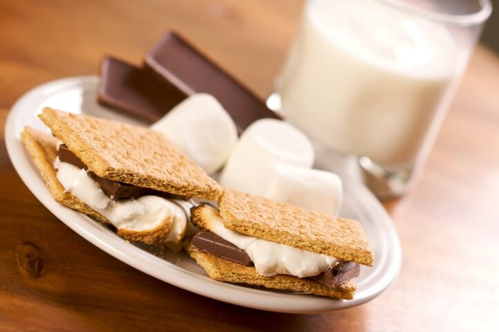 s'mores for rainy day
