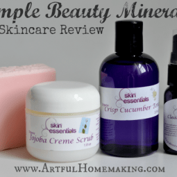 Natural Skin Care {Simple Beauty Minerals}
