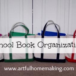 Organizing School Books