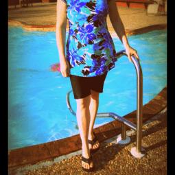 A Modest Swimsuit Attempt