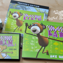Song School Latin Review {Latin for the Little Ones}