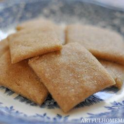 Easy Sourdough Crackers Recipe