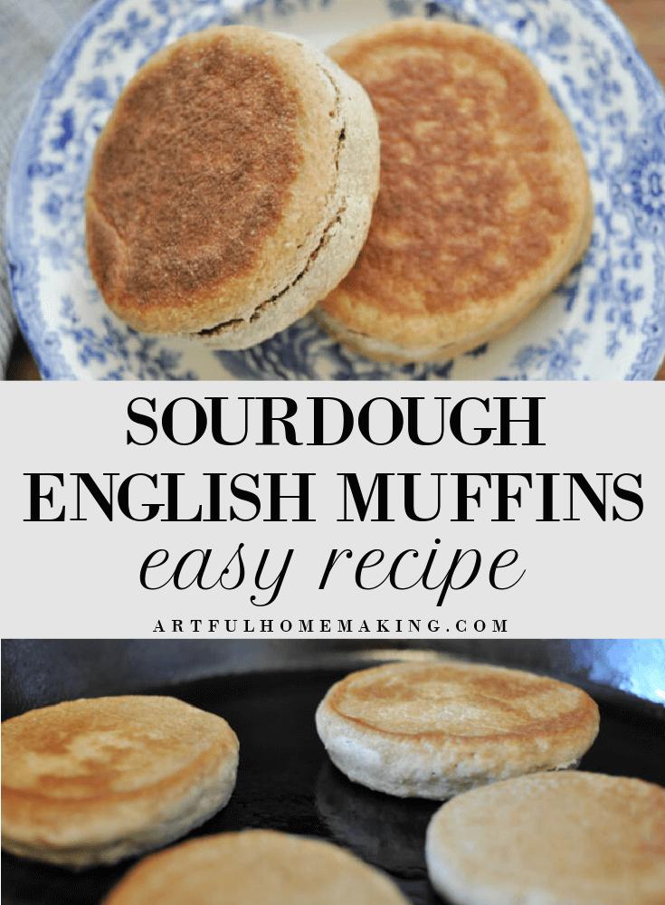 Sourdough English Muffins Easy Recipe