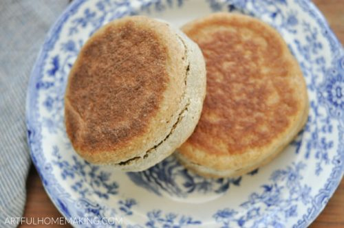 Sourdough English Muffins Recipe
