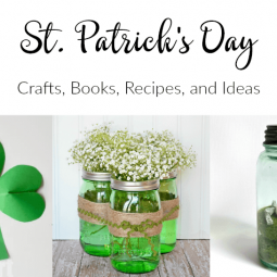 St. Patrick's Day Crafts, Recipes, and Books