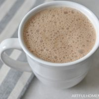 sugar free hot chocolate