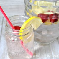 Sugar-Free Sparkling Strawberry Lemonade