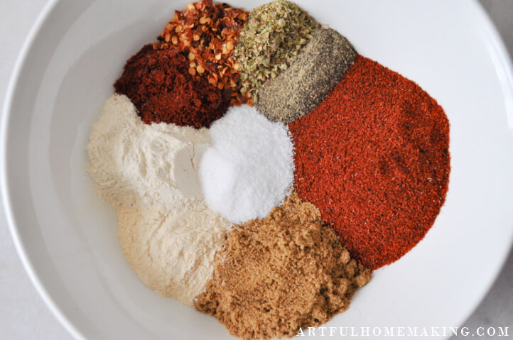 spices for taco seasoning