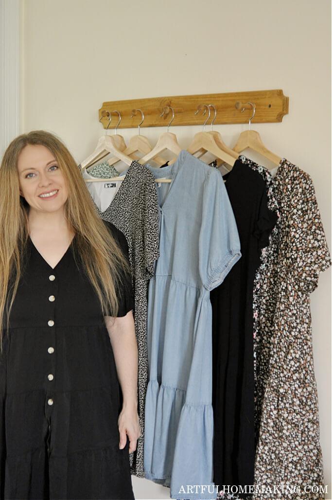 ten item wardrobe for summer