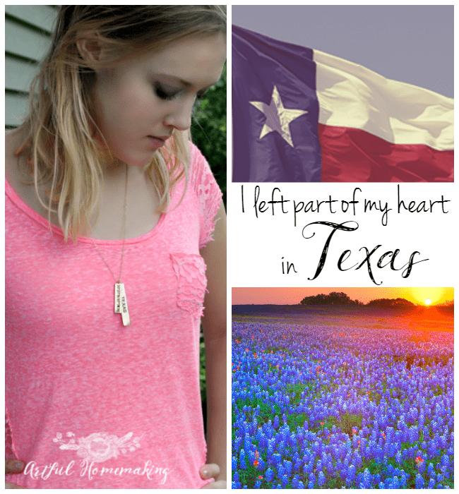 left my heart in texas