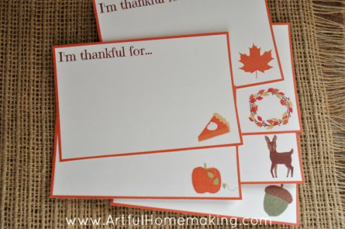 Thanksgiving Cards Printable