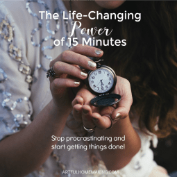 The Life-Changing Power of 15 Minutes