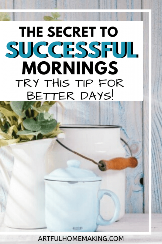 The Secret to Successful Mornings