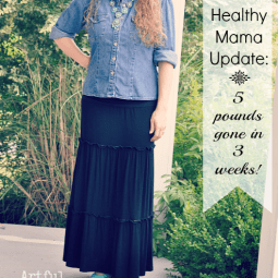 Trim Healthy Mama Update {5 Pounds Gone!}