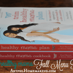 Trim Healthy Mama Fall Menu Plan