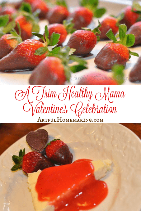 A Trim Healthy Mama Valentine's Celebration
